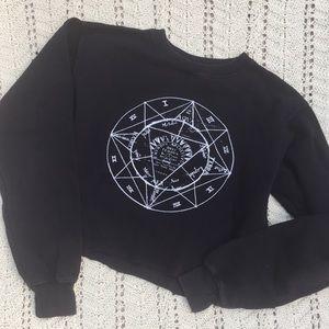John Galt by Brandi Melville cropped sweatshirt